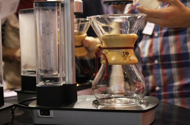 new york coffee festival trends bow tie la marzocco chemed steampunk sprudge allegra coffee masters