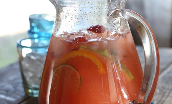 Melon Rum Punch