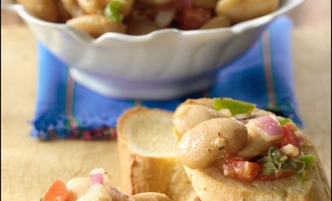 Cannelinni-Bean-Bruschetta-Salad-Health-Quick-Appetizer-Snack-Relish