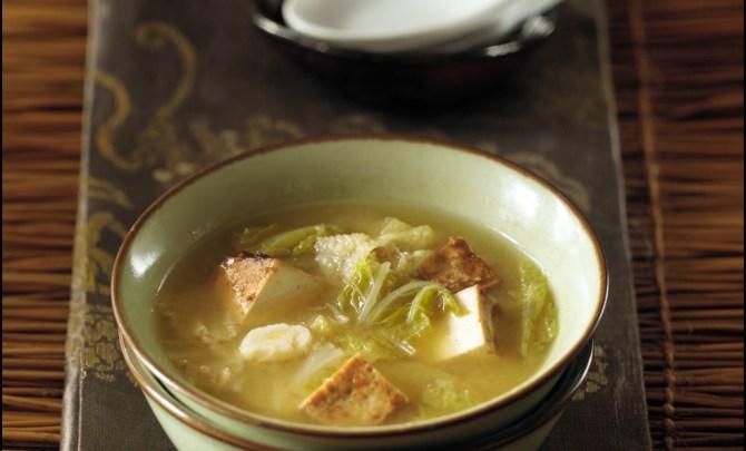 Miso Cabbage Stew
