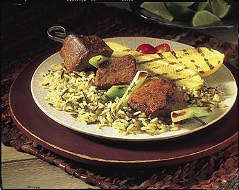 fiery-beef-satay-skewers-relish-recipe