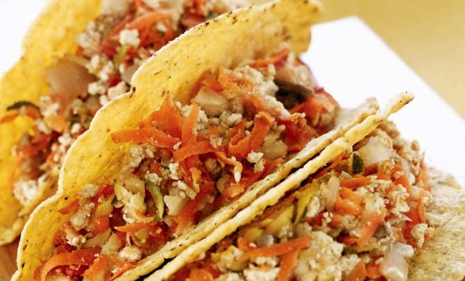 tofu-taco-vegetarian-mexican-dinner-health-food-spry