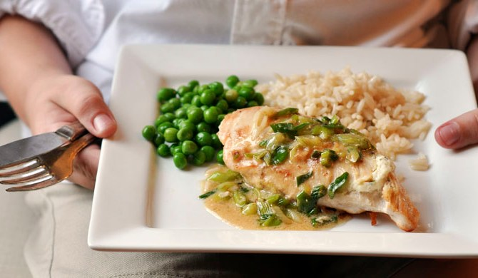 Boursin-Stuffed Chicken