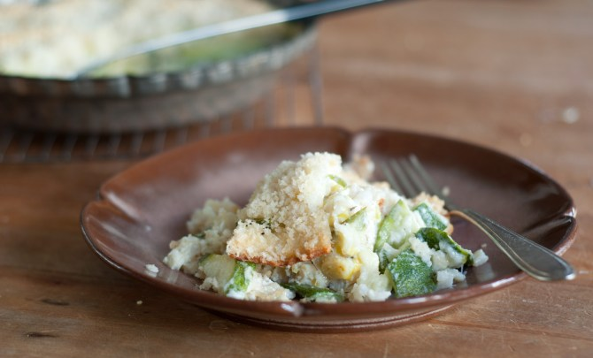 Brown-Rice-Gratin-with-Zucchini-Leeks-and-Goat-Cheese-Relish-Recipe.jpg