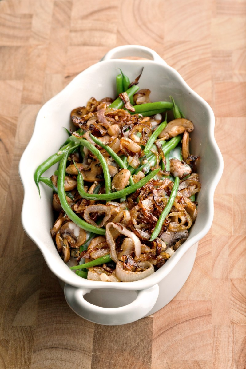 Food Network Green Bean Casserole With Crispy Shallots