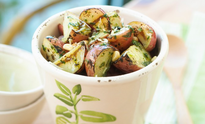 grilled-pesto-potato-salad