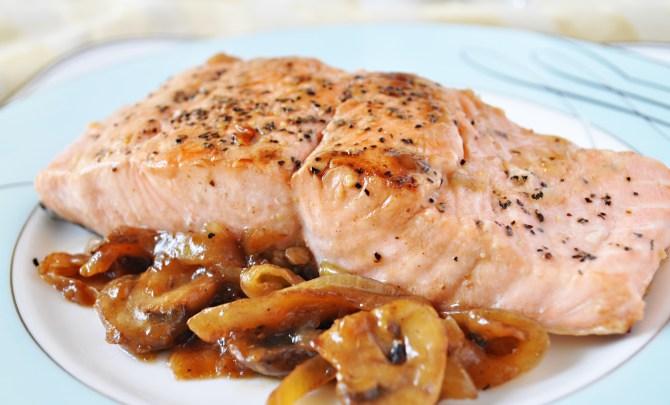 salmon-marsala