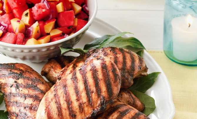 light-healthy-cooking-coffee-spice-chicken-fruit-basil-salsa-spry
