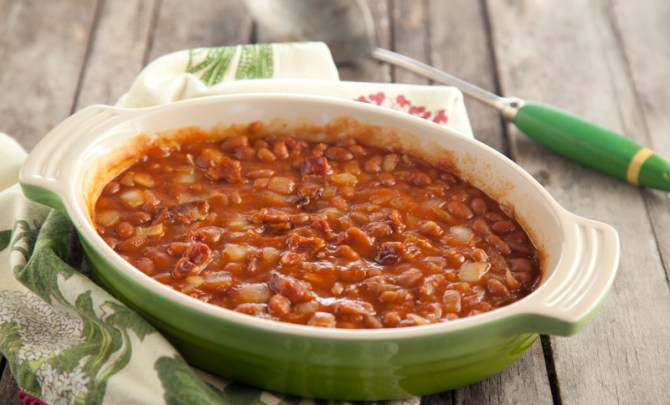 paula-deen-diabetes-friendly-recipe-baked-beans-diet-nutrition-food-health-spry