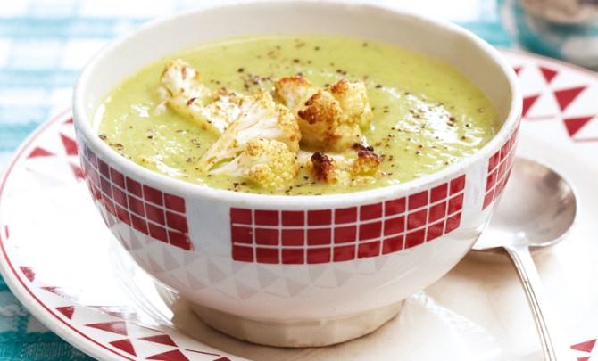 cauliflower-arugula-soup-essential-low-fat-cookbook-diet-health-spry