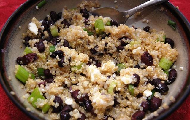 lime-quinoa-black-bean-scallion-feta-salad-side-dish-whole-grain-health-spry