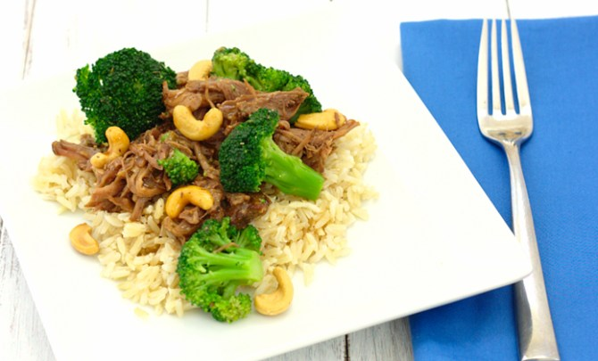Healthy Chinese Beef with Broccoli Recipe.