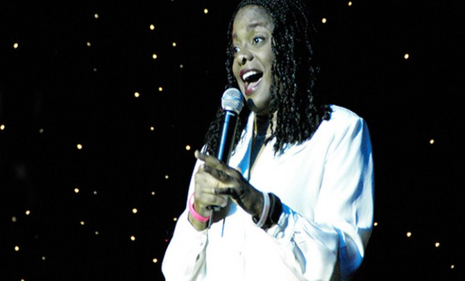 The story of Renee Hicks, a comedian and second hand smoke lung cancer survivor.