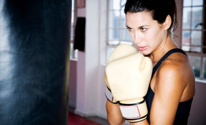 What to expect the first time you try Kick Boxing.