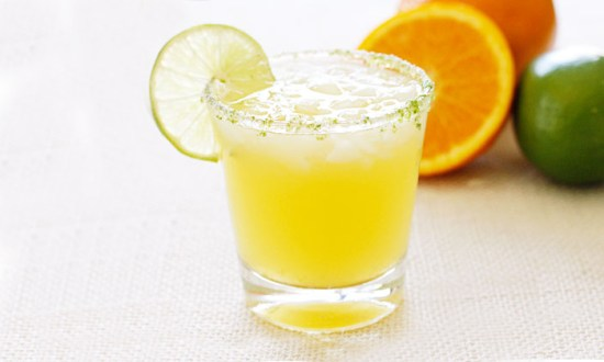 A low-calorie Citrus Margarita Spritzer from Skinny Taste.