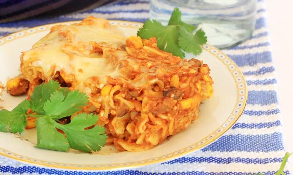 Baked-Enchilada-Pasta-Mexican-Casserole-Health-Recipe-Spry