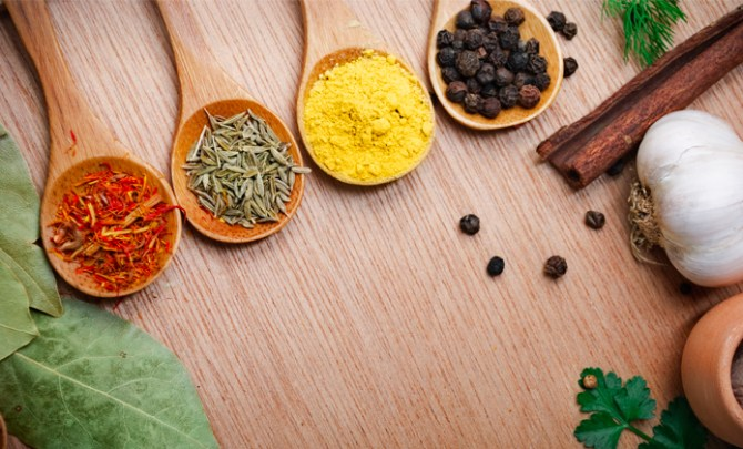 Spices that help weight loss.