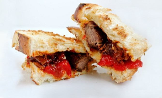 Brisket Sandwich recipe.