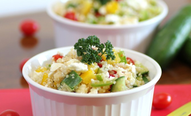 Greek Quinoa Salad recipe.
