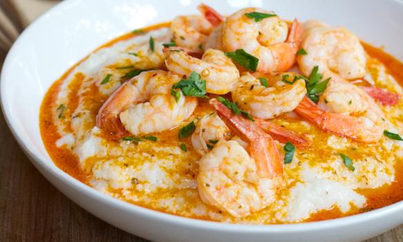 Shrimp and Grits Recipe - Spry Living
