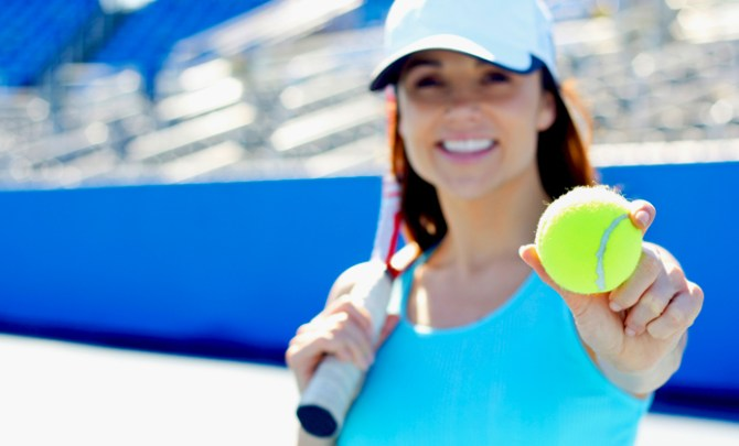 How a tennis ball can help lower blood pressure.