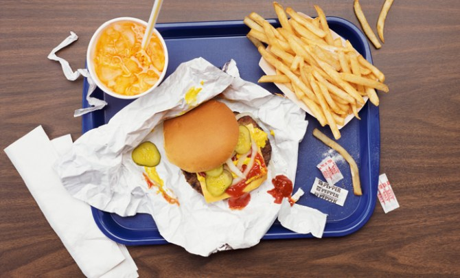 The surprising number of calories in fast food.