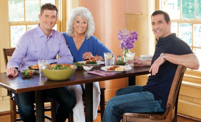 Interview with Paula Deen's sons.
