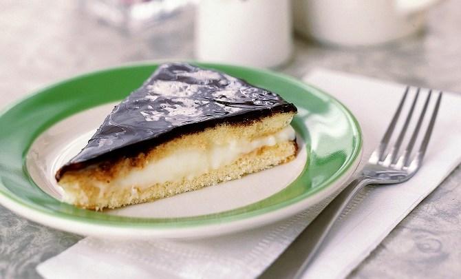 Boston Cream Pie recipe.