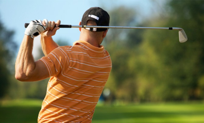 Pliates workout to help your golf game.