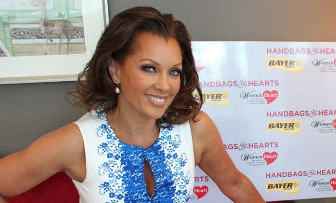 Vanessa Williams talks about heart disease.