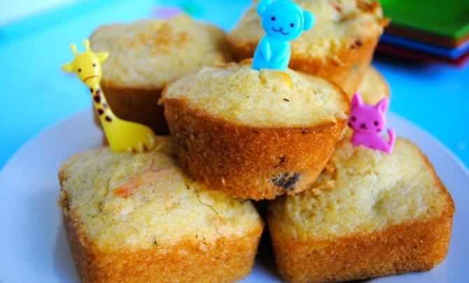 Vegan Lunchbox Muffins recipe.
