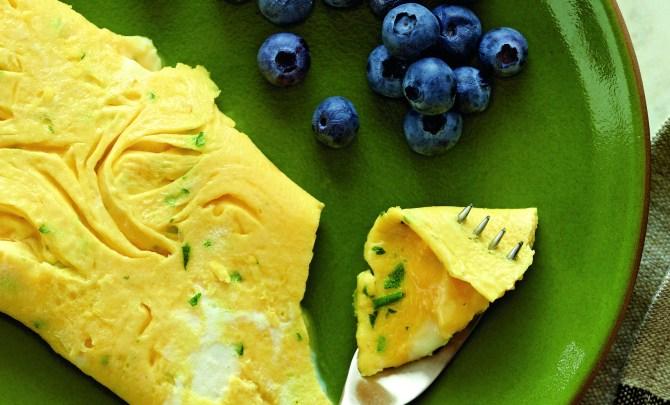 herbed-omelet-truffle-butter