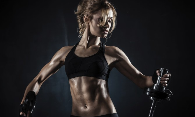 lifting weights won't make you bulky