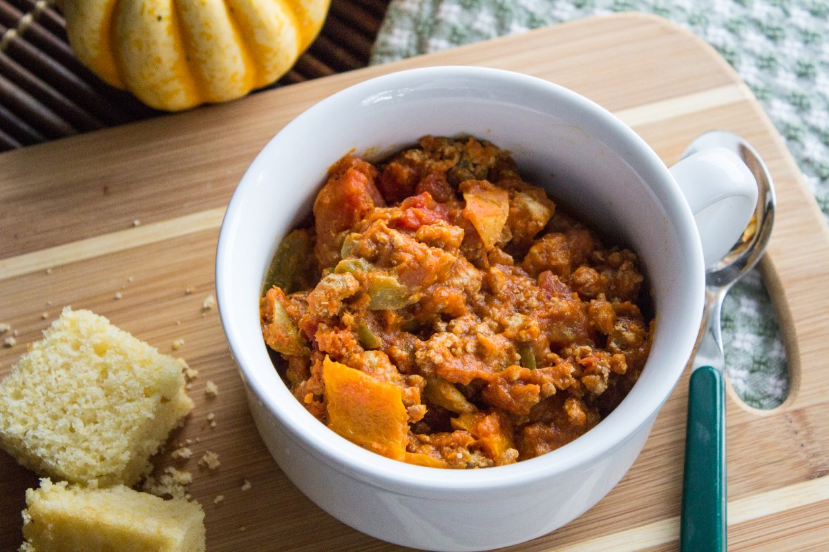 Slow Cooker Pumpkin Turkey Chili Recipe Spry Living