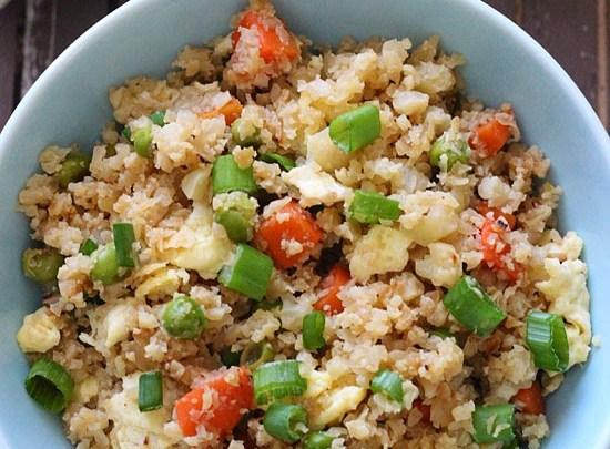 cauliflower %22fried rice%22