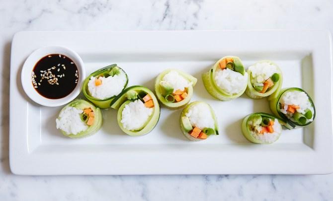 PureWow Veggie Sushi 3