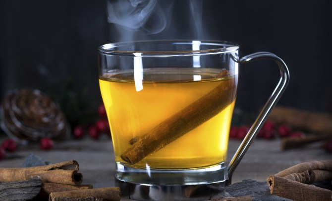 Hot Toddy with Cinnamon