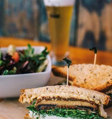 Gluten Free Portobello Sandwich