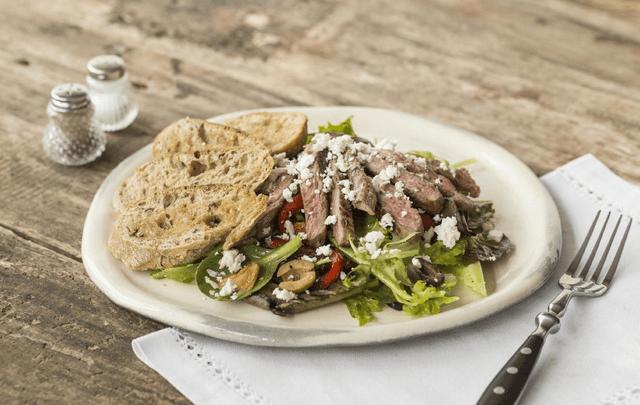 Spanish Steak Salad