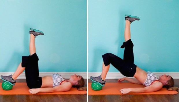 Medicine Ball Legs Workout