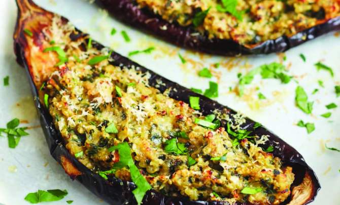 how to cook eggplant baked
