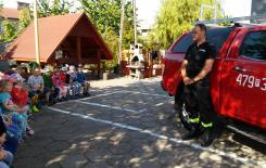 Więcej o: Przedszkolaki u strażaków
