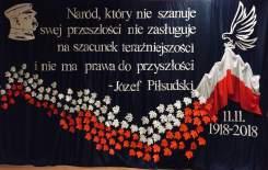 Więcej o: 100. rocznica odzyskania niepodległości przez Polskę