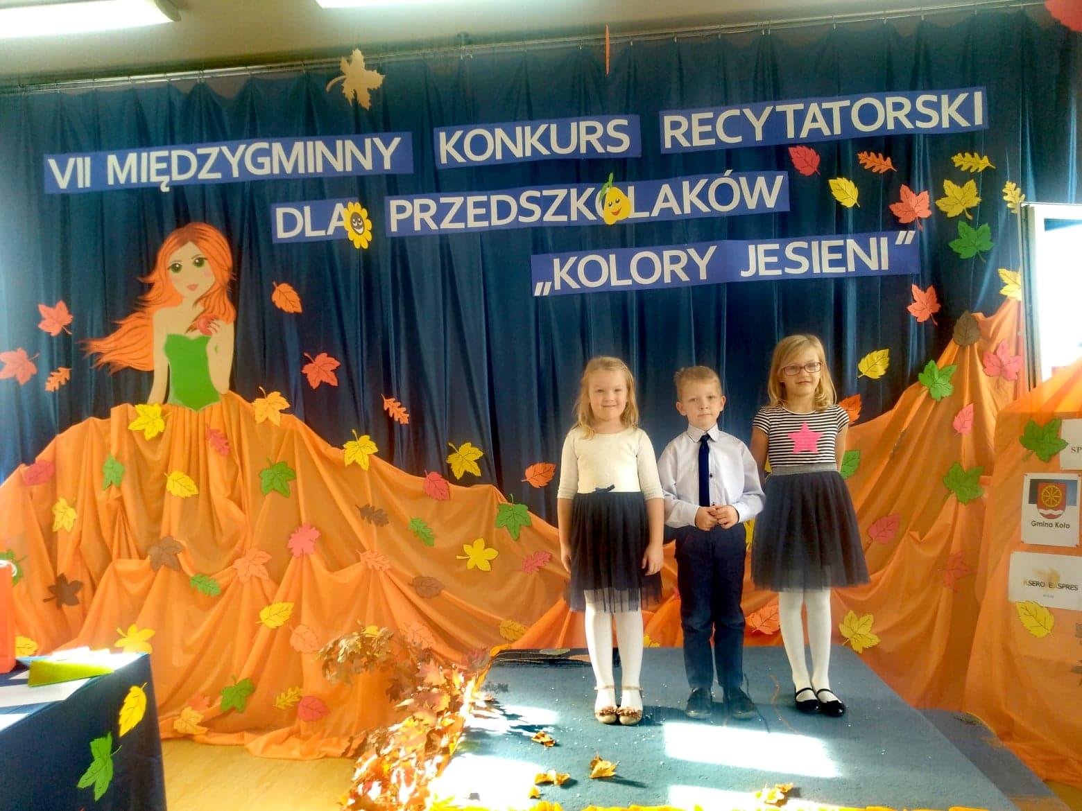 Vii Międzygminny Konkurs Recytatorski Dla Przedszkolaków We
