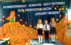 Więcej o: VII Międzygminny Konkurs Recytatorski dla Przedszkolaków we Wrzącej Wielkiej