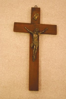 Missionary crosses were given to each sister upon her departure for China. This cross was given to Sister Eugene Marie Howard.