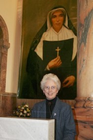 Sister Ann Margaret O'Hara, general superior of the Sisters of Providence, announced to the Congregation on Feb. 21 that the Ordinary Congregation of the Cardinals in Rome had made a positive declaration concerning a second miracle attributed to Mother Theodore's intercession.