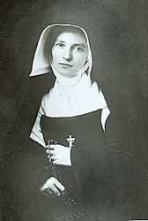 """Sister St. Francis Xavier LeFer (1816-1856) came from France in 1841 and """"was the soul of the congregation,"""" according to Mother Theodore Guerin, foundress."""