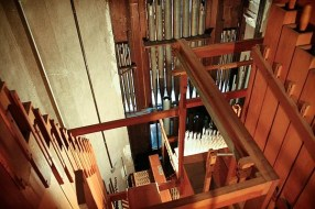 Looking down on the pipes from above is an awesome sight.