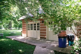 Lodge doors